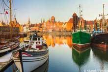 Foto Hafen von Danzig