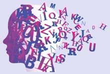 Foto Kopf Letter Silhouette