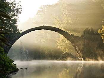 Foto Mystische Morgenstimmung