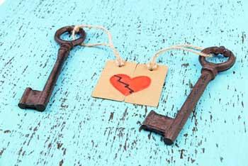 Foto Schlüssel zum Herz